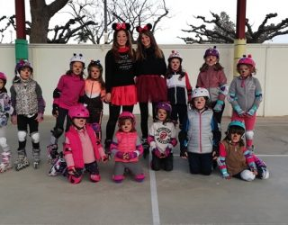 Carnaval sobre patines