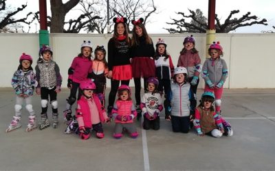 Carnaval sobre patines