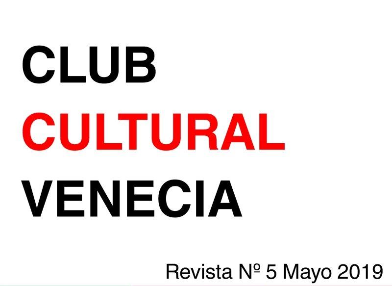 Revista 5 Club Cultural Venecia