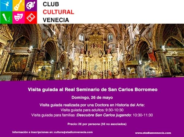 Visita guiada Iglesia San Carlos