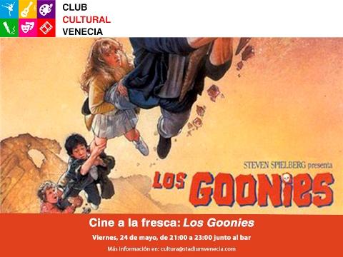 Cine a la fresca, Los Goonies