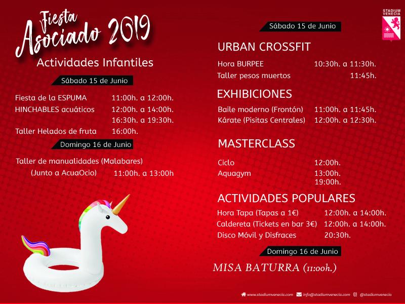 Fiesta Apertura de Verano 2019