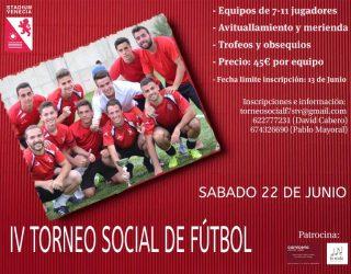 IV Torneo Social de Fútbol STV