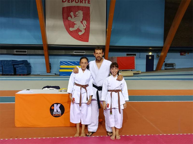 Examen para cinturon negro de Karate Stadium Venecia