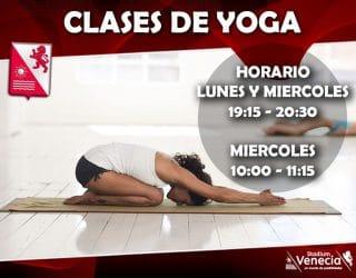 Clases de Yoga temporada 2019/2020
