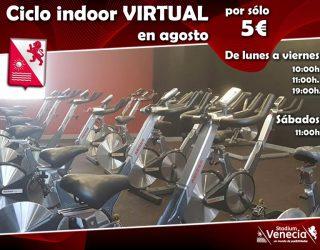 Ciclo Indoor Virtual agosto 2019