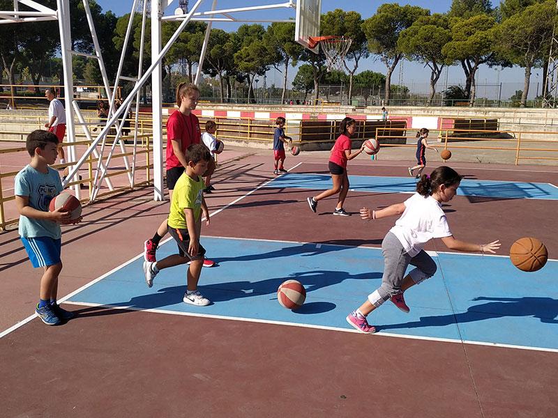 Comienzo escuela iniciación baloncesto