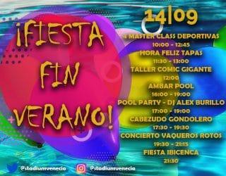 Ven a la Fiesta de Fin de Verano 2019