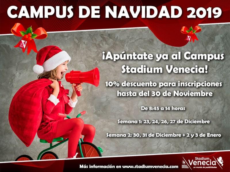 Campus Navidad 19, apúntate