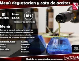 Menú degustación/Cata aceites
