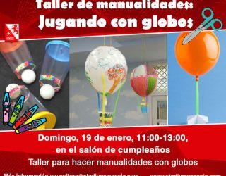 Taller: juega con globos