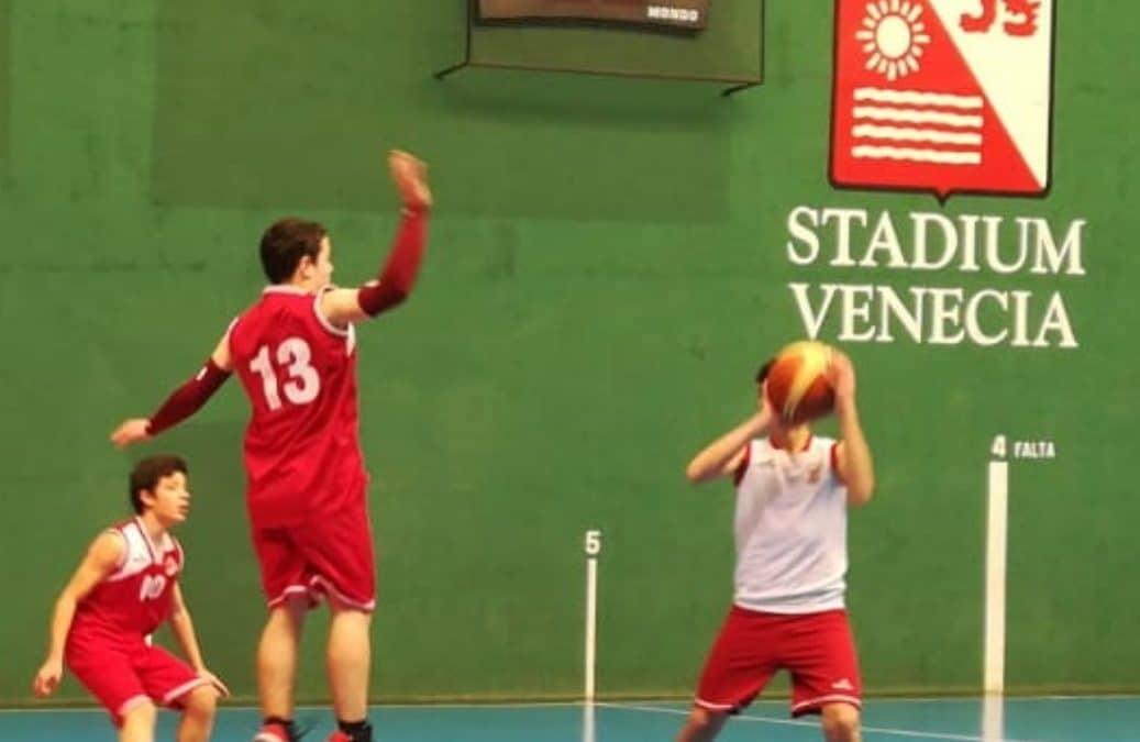 Intensa jornada de basket