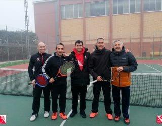 Nuestros veteranos del tenis se imponen