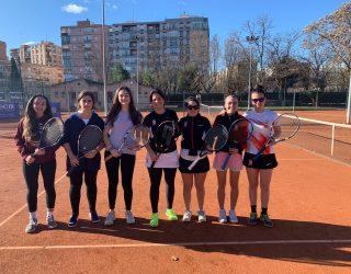 Pleno de victorias de tenis