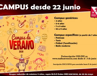 Campus de Verano 2020 STV