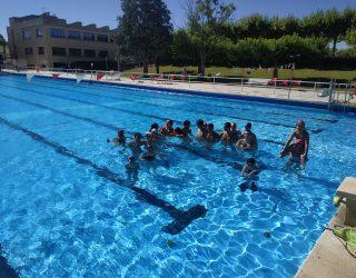Fin de los entrenos de natación verano 2020
