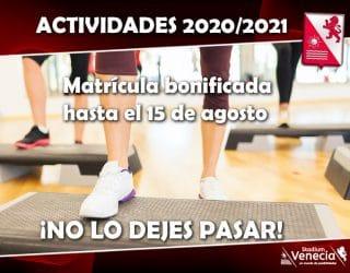 Actividades 2020-2021