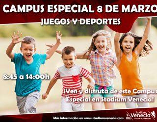 Campus especial 8 de marzo