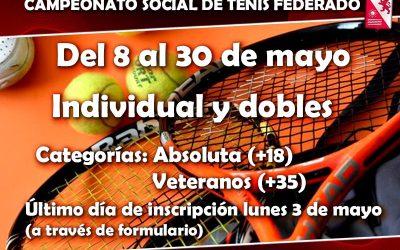 Cto. Social de Tenis Federado