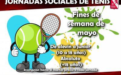 Jornadas sociales tenis