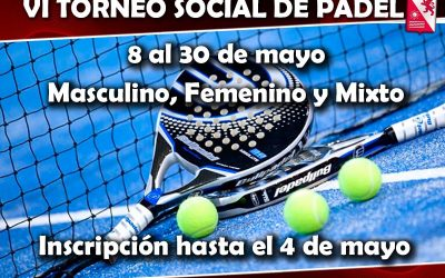 VI Torneo Social de Pádel