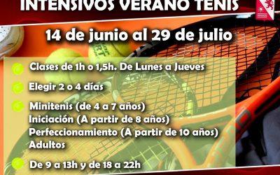Intensivos verano tenis
